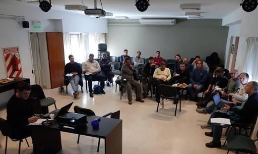 CES | Saladillo: Encuentro provincial de distribuidoras eléctricas en la cooperativa