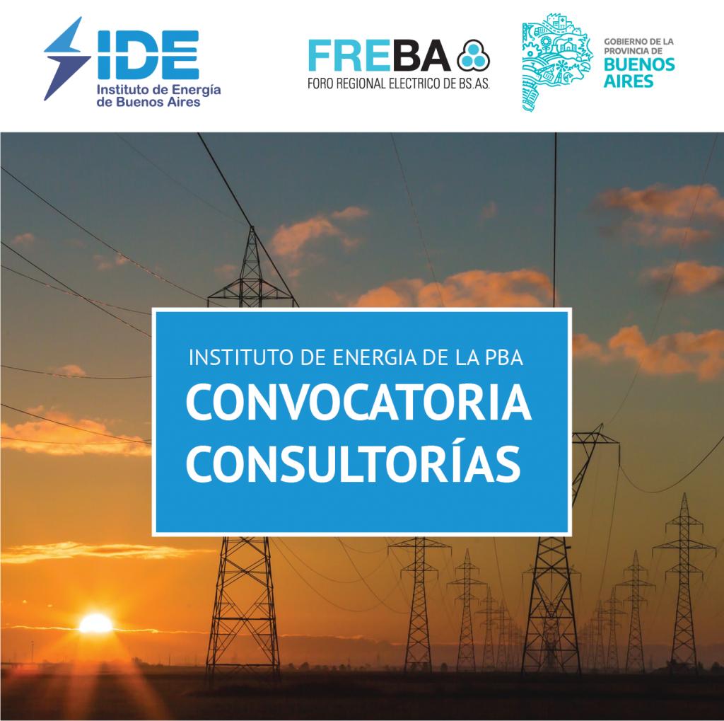 IDE | CONVOCATORIA A CONSULTORÍAS PROFESIONALES