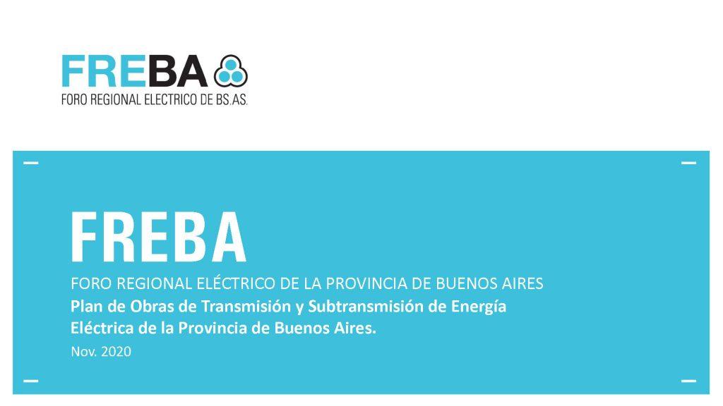 Presentación del Plan de Obras de Transmisión y Subtransmisión de Energía Eléctrica de la Provincia de Buenos Aires