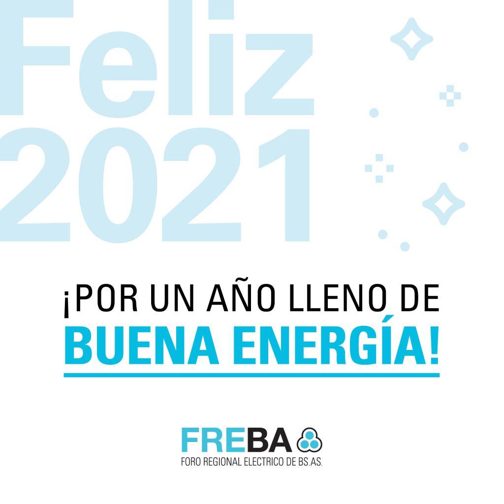 Feliz 2021 – Por un año lleno de buena energía!